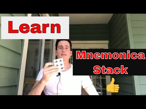 How to Learn or Memorize Mnemonica Stack order by Juan Tamariz - The Best Ways to Memorize Mnemonica