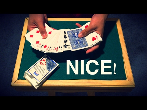 One of the Most Powerful Card Trick EVER: The Invisible Deck