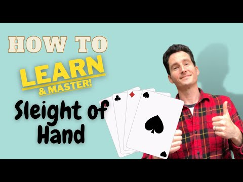 How to Learn Sleight of Hand Magic - Master Sleight of Hand Tips & Tricks [Card Tricks & Coins]