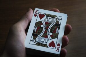 Deck of cards for card magic