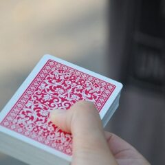 How many cards are in a deck of cards without jokers