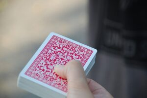 Trick decks of cards for magic