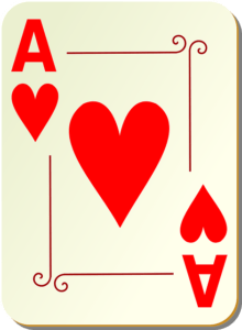 13 hearts in a deck of cards